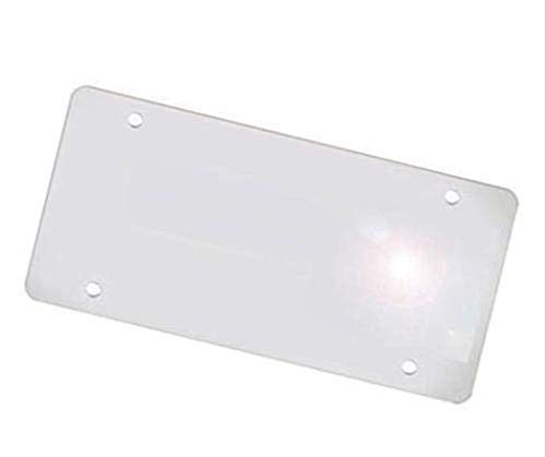 (SunflexZone License Plate Cover IR Invisible-Plate Infrared Cover Protector,car Shield Protective Film)