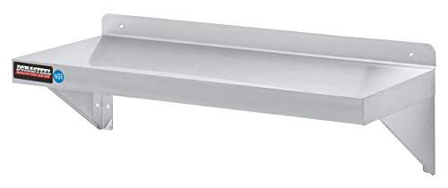 Stainless Steel Wall Shelf by DuraSteel - 36