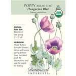 Poppy Bread Organic Seed