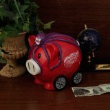 NHL Large Thematic Piggy Bank