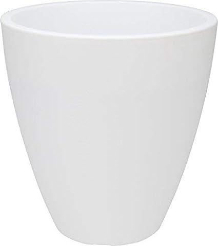 Macetero Cremeweiß–Diámetro 40cm–Plástico Maceta Macetero