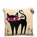 (Halloween The Midnight Market Cat Decorative Pillow 16in x)