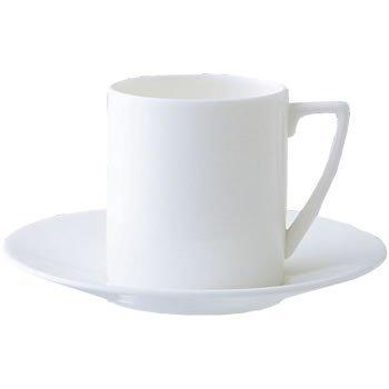 (Jasper Conran by Wedgwood White Bone China Espresso Saucer Swirl)