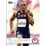 - 2012 TOPPS U.S. Olympic Trading Cards - #34 Wallace Spearman - Track & Field