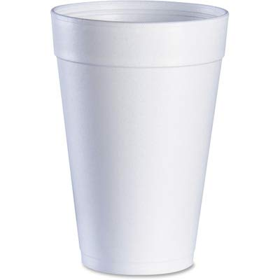 DCC Drink Foam Cups, 32oz, White, 25/Bag, 20 Bags/Carton (32TJ32) ()