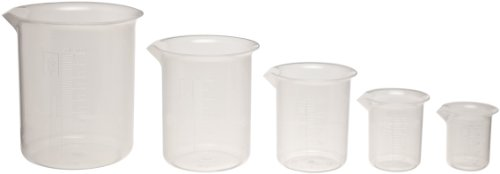 Kimax 222195 5Piece Glass Low Form Griffin Beaker Set