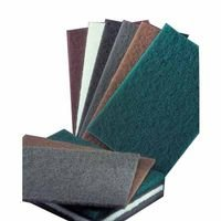 6X9 S/C Med Gry Metal Blending Pad 20/Bx, Sold As 1 Box, 20 Each Per Box by Norton Abrasives - St. Gobain