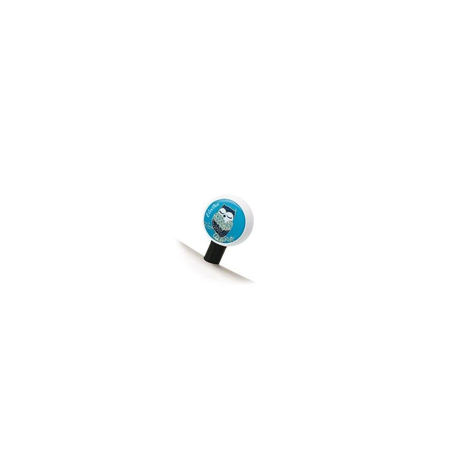 Electra Night Owl Bubble Valve Cap (Blue)