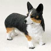 WELSH CORGI Dog Pembroke Stands NEW Resin FIGURINE DF51A (Welsh Corgi Figurine)