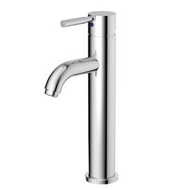 Aquasource Grabill Chrome 1 Handle Single Hole Watersense Labeled Bathroom Sink Faucet Drain Included