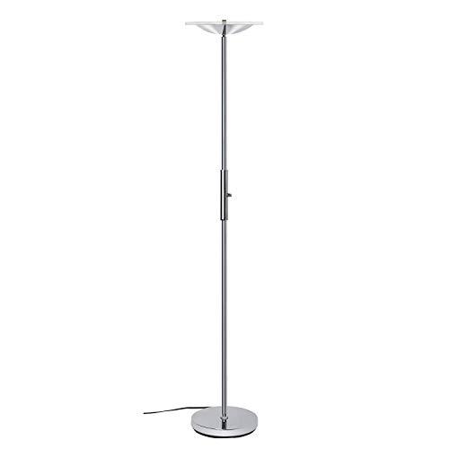 LED Torchiere Floor Lamp, SUNLLIPE Super Bright 18W Dimmable Uplight Adjustable Floor Lamp, Modern 70.5