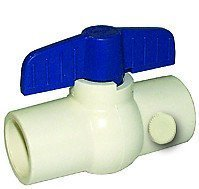 (LEGEND VALVE 1/2 in. CPVC Drainable Socket Ball)