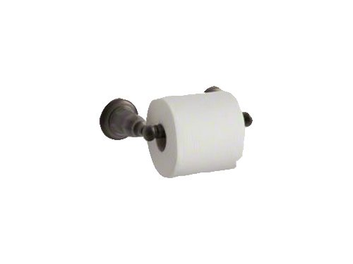 Elements Bronze Toilet Paper Holder (Kohler K-13504-2BZ Kelston Toilet Paper Holder, Oil Rubbed Bronze)