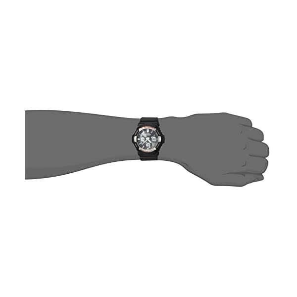 Casio Men's 'G Shock' Quartz Resin Casual Watch, Color:Black (Model: GAS-100-1ACR) 3