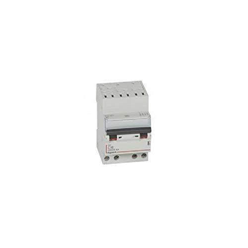 4P Legrand Disjoncteur T/étrapolaires 16A courbe C Auto//Vis- 406919
