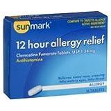 Sunmark 12 Hour Allergy Relief, 16 tabs by Sunmark (Pack of 3)