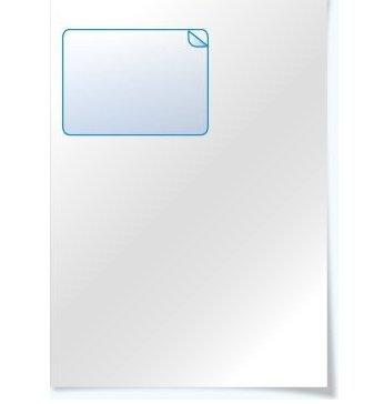 100 fogli di carta per fattura formato A4 con adesivi per indirizzi integrati per Amazon e Ebay INJEK