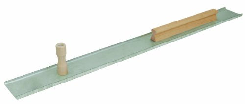 MARSHALLTOWN The Premier Line 14879 48-Inch Plaster Darby-Single Serrated Edge-Keyhole Handle