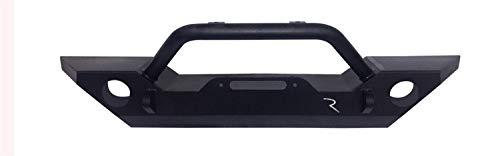RAMPAGE PRODUCTS 99306 Black Rock Rage Front Bumper for 2007-2018 Jeep Wrankler JK & JKU (Front Aftermarket Bumpers)