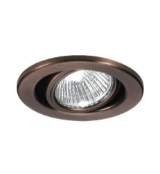 WAC Lighting HR-837-PB 3.375in. Gimbal Ring Recessed - Miniature Low Recessed Voltage Lights