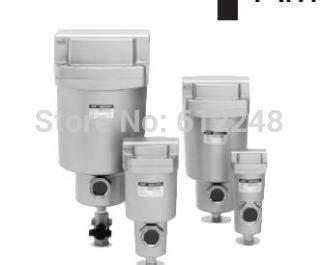 Fevas SMC Type auto Drain Type Precision air Filter Series AMG/Water-Drop Separator AMG250-02/AMG250-03/AMG250-04 Manual Drain
