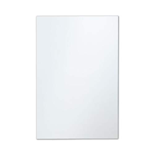 The Better Bevel Frameless Rectangle Wall Mirror with Polished Edge | 24-inch - Large Bathroom Mirrors Unframed