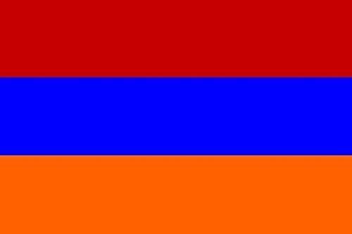 Fahne Flagge Armenien 120 x 180 cm Bootsflagge Premiumqualität