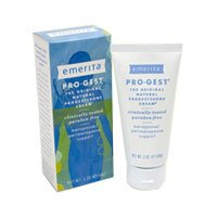 Emerita Pro-Gest Cream Paraben Free 2 oz ( Multi-Pack)