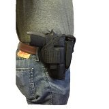 Nylon Belt or Clip on Gun Holster Fits Browning HI-Power: 9mm, .40 S&W