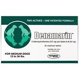 Nutramax Laboratories Denamarin Tabs for Medium Dogs, 13-34 lbs, 30 Tablets Green