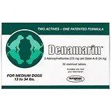 Denamarin Tabs for Medium Dogs, 13-34 lbs, 30 Tablets Green