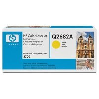 New HP Hewlett Packard Q2682A New YELLOW TONER SMART PRINT Cartridge FOR COLOR LASERJET Color Laserjet CLJ 3700 6K Yield (Yellow Print 3700 Cartridge)