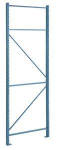 96''H x 42''D 22780 lb Capacity Powder Coat Boltless Pallet Rack Upright