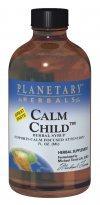 Planetary Formulas Calm Child, Herbal Syrup 2fl oz