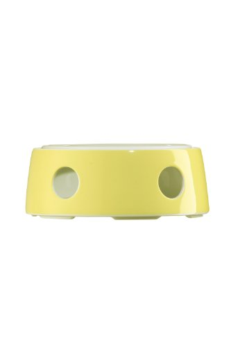 (Arzberg 5.2-in. TRIC Warmer with Tealight, Yellow)