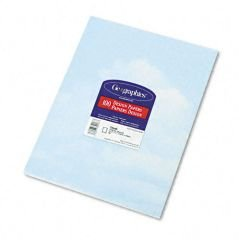 Geographics Design Paper, Clouds, 24 lb, 8.5 x 11 Inches, 100 Sheets Per Pack -