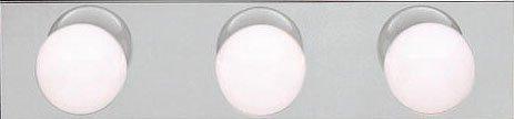 - KICHLER Kcihler 623NI, New Street 3-Light Bath Strip, Brushed Nickel by Lighting