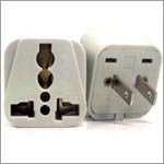 VCT VP105 Universal to American Travel Outlet Plug Adapter for 2-Pin USA by VCT