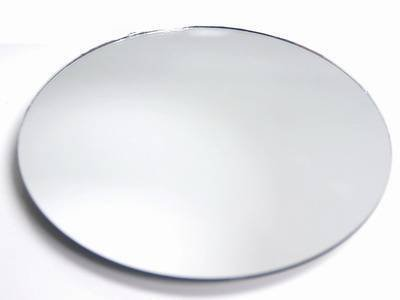 "Set of 12 10"" Round Glass Mirrors for Wedding & Banquet Cent"
