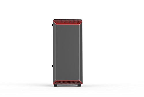 Phanteks PH-EC300PTG_BR Eclipse P300 Tempered Glass Steel ATX Mid Tower Case Black/Red by Phanteks (Image #2)