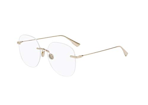Authentic Christian Dior Stellaireo 6 0J5G Gold Eyeglasses