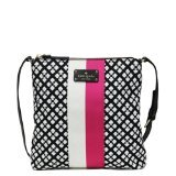 Kate Spade Classic Spade Victoria Cross-body Bag in Black & Cream 21CkAZb7WJL