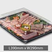 Bandejas de plástico para comida, tamaño pequeño, 5