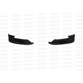 (Seibon FL0708BMWE92M3-TA Carbon Fiber Front Lip TA Style)