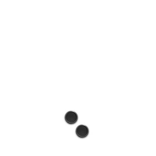Juego de 1000 discos negros Circa Levenger, 1/2 pulgada (ADS890 BK)