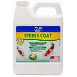 Mars Fishcare North America 140G Stress Coat Pond Water Conditioner, 32-oz. - Quantity 1