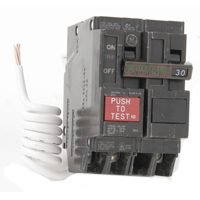 30a 2p Ge Gfci Circuit Breaker by GE