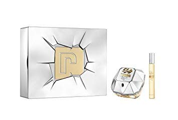 - Paco Rabanne Lady Million Lucky L 2 Pc Tin Box Set (2.7 Edp Spr + 10ml Travel Spr)