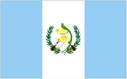 Novelties Direct Guatemala/Guatemalan Flag 5ft x 3ft (100% Polyester) With Eyelets For Hanging Worldwide