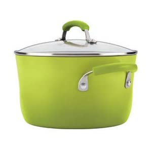 Rachael-Ray-17506-Brights-Nonstick-Cookware-Pots-and-Pans-Set-14-Piece-Green-Gradient